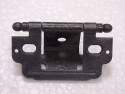 Inset With Ball Finial Wrought Iron Open Hinge
